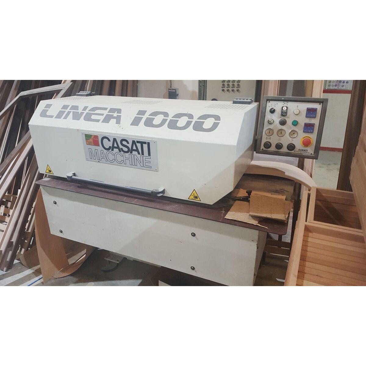 Caseti Linea 1000 - használt furnértáblásító