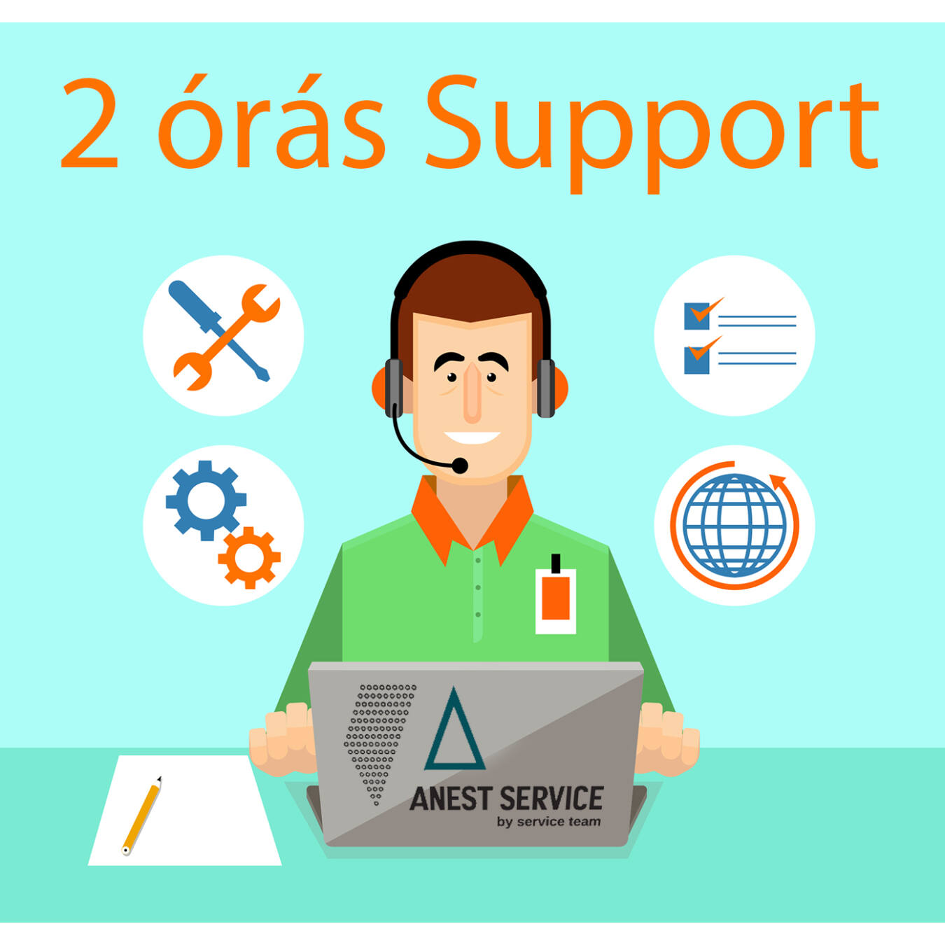 2 Órás Service Support