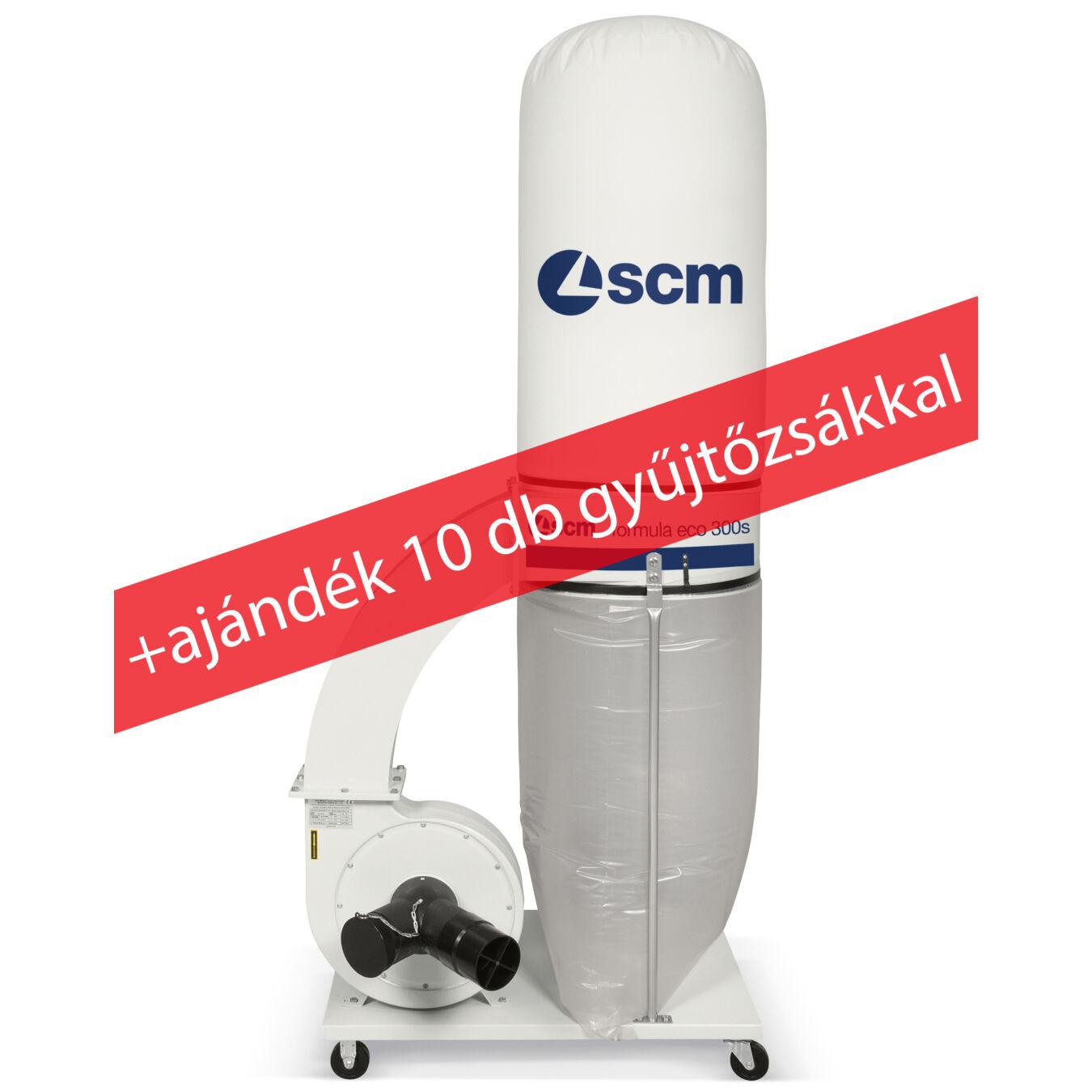 SCM ECO 300S + ajándék 10db elszívó zsák